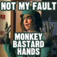 Monkey Bastard Hands
